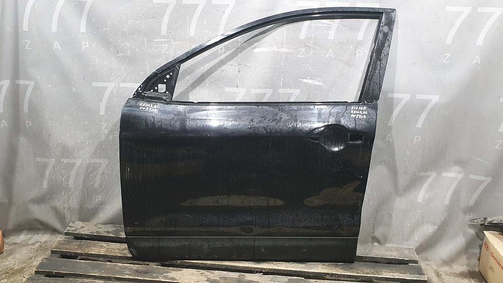 Nissan Qashqai (J11) Дверь передняя левая Б/у Оригинал