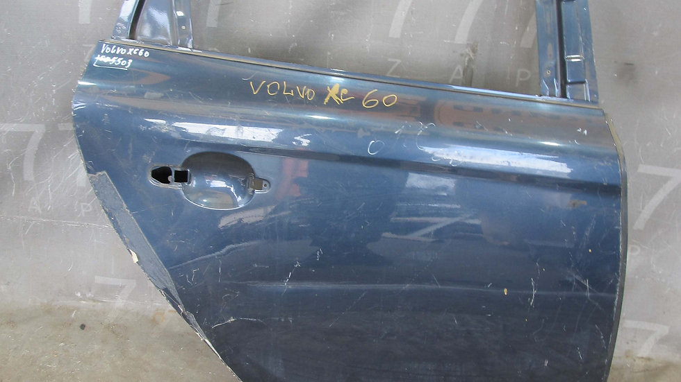 Volvo XC60 1 (08-17) Дверь задняя правая  Б/у Оригинал