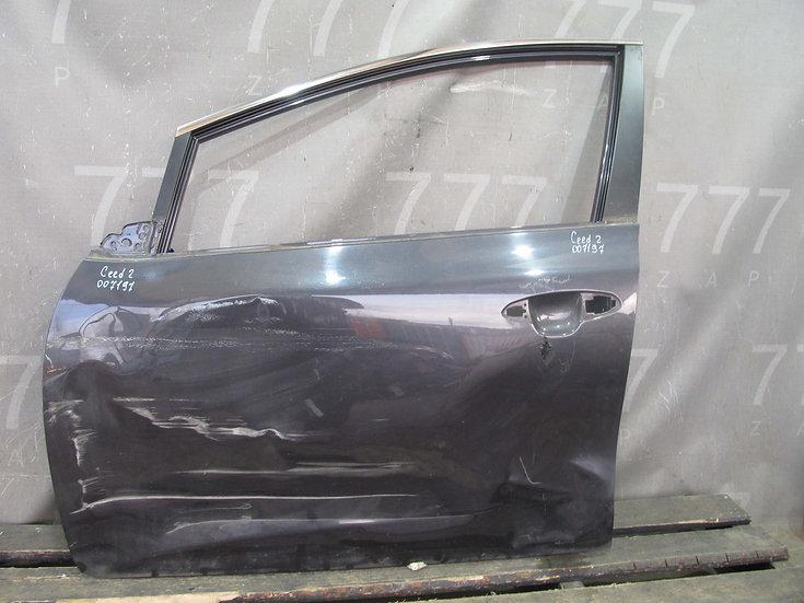 Kia Ceed 2 (JD) Дверь передняя левая Б/у Оригинал