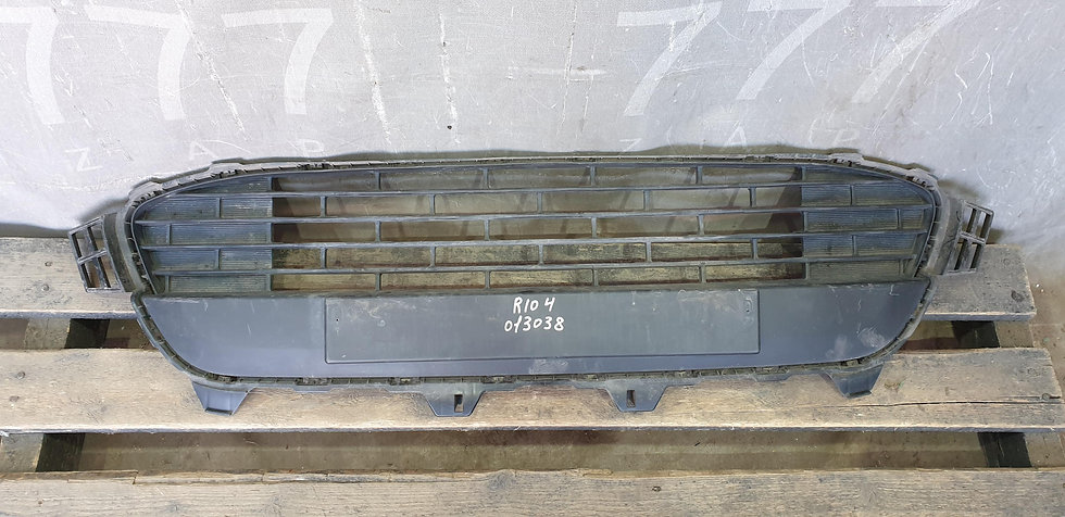 Kia Rio 4 (FB) 17- Решетка переднего бампера Б/У Оригинал