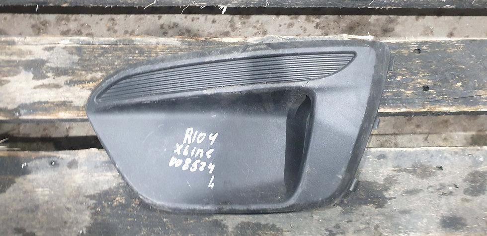 Kia Rio 4 (FB) X-Line 17- Заглушка ПТФ левая Б/у Оригинал