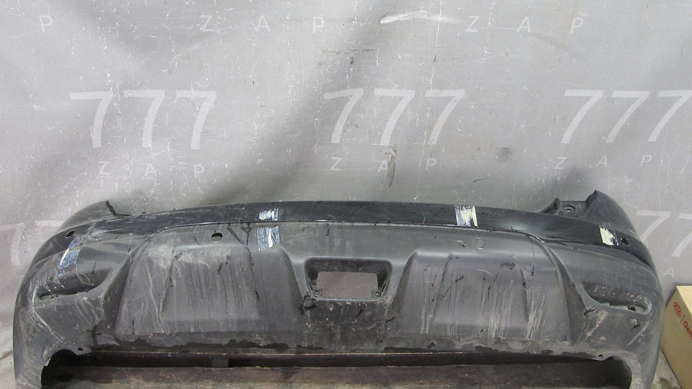 Nissan X-Trail 3 (T32) Бампер задний Б/у Оригинал