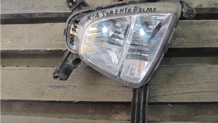 Kia Sorento 3 Prime (UM) ПТФ передняя правая  Б/у Оригинал