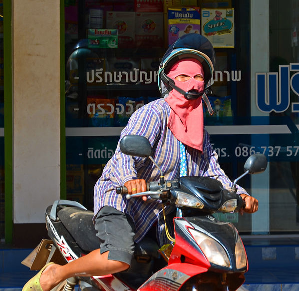 A Thai woman with a beautiful smile.