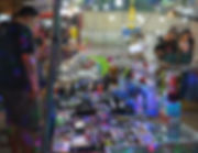 Sunglasses for sale at the night market in Thailand.