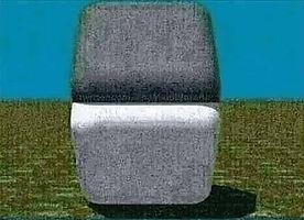 Testing light with gray blocks.