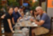 Enjoying a Thai meal in Phitsanulok.