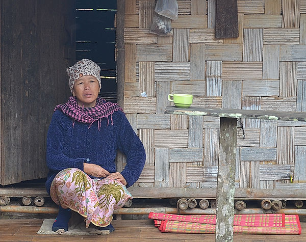 A Shan villager talking about medical problems in Thailand.