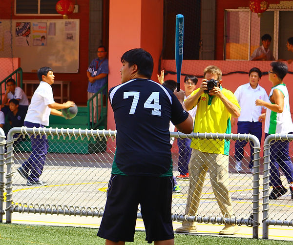 Sports activity at Thai-Chinese International School