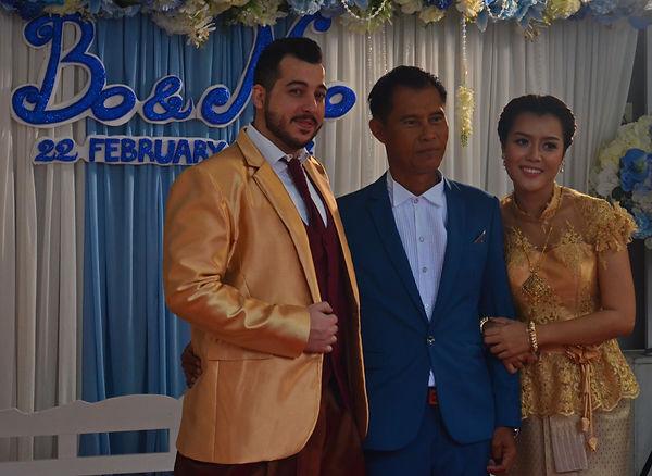 A wedding in Thailand.