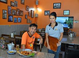 D&G food in Phitsanulok, Thailand.