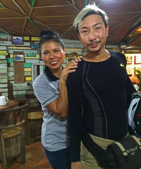 A local celebrity stops by in Thailand.