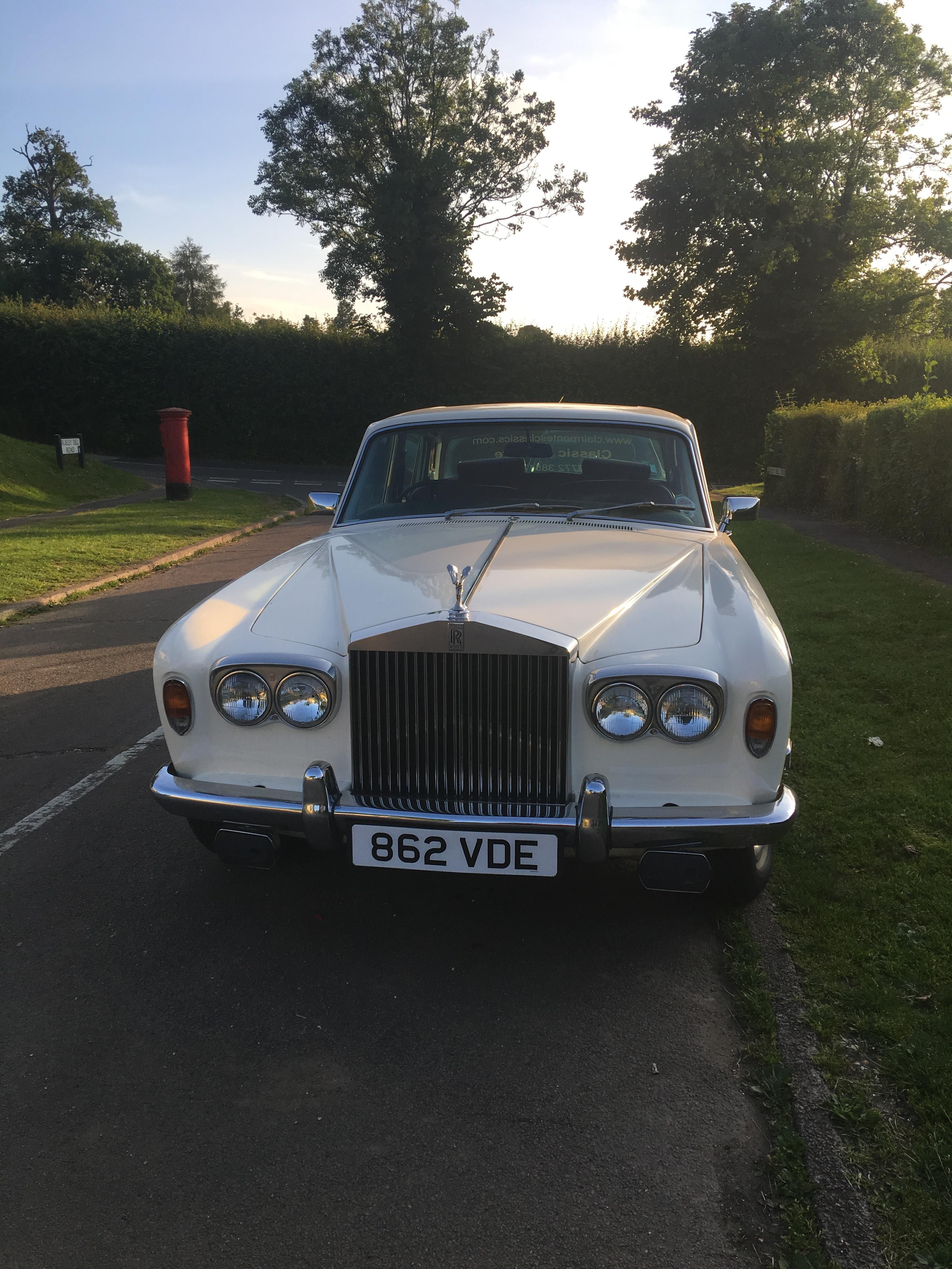 Chauffeur Driven Rolls Royce