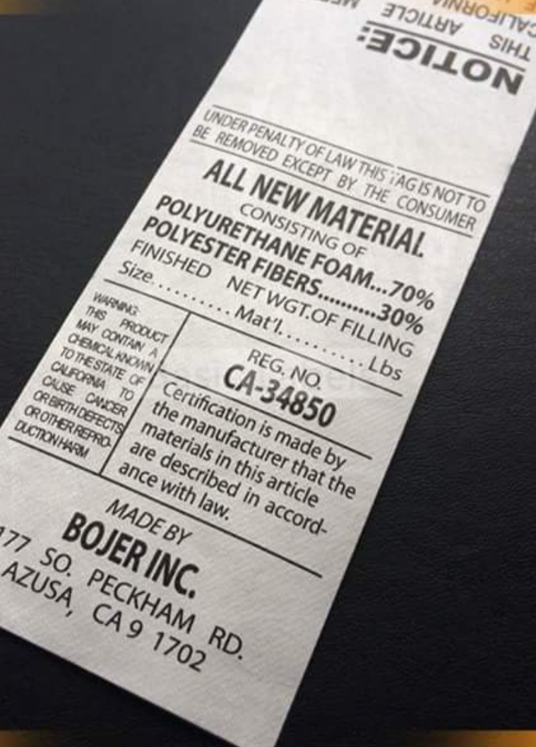 Apparel sourcing- Carelabels