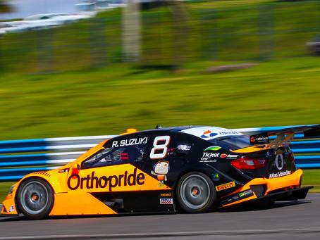 Rafael Suzuki chega a Londrina para 4ª etapa da Stock Car visando manter sequência na zona de pontos