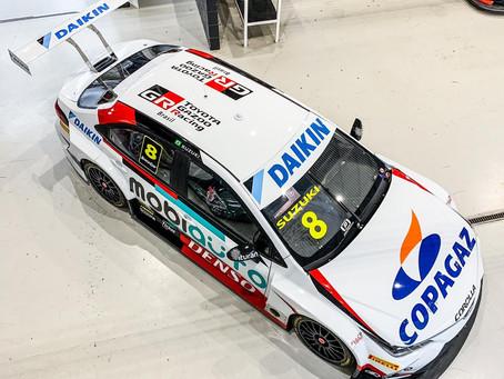 Daikin dá primeiro passo no esporte brasileiro e estreia na Stock Car com o piloto Rafael Suzuki