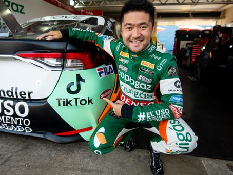 Parceria entre piloto Rafael Suzuki e TikTok visa mostrar bastidores do automobilismo