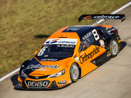 Palco da sua estreia nos carros, Rafael Suzuki disputa 6ª etapa da Stock Car em Campo Grande