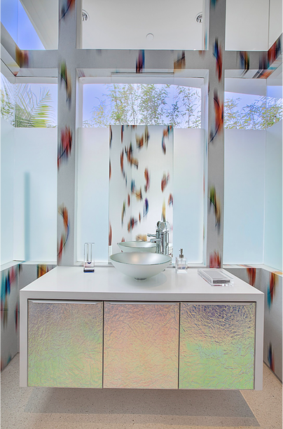 BEVERLY HILLS CONTEMPORARY Bathroom - Crespo Design Group