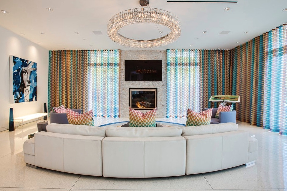 Interior Designer Tampa Blog | Featured in Dering Hall | High-Design Spaces with Curved Sofas | Crespo Design Group