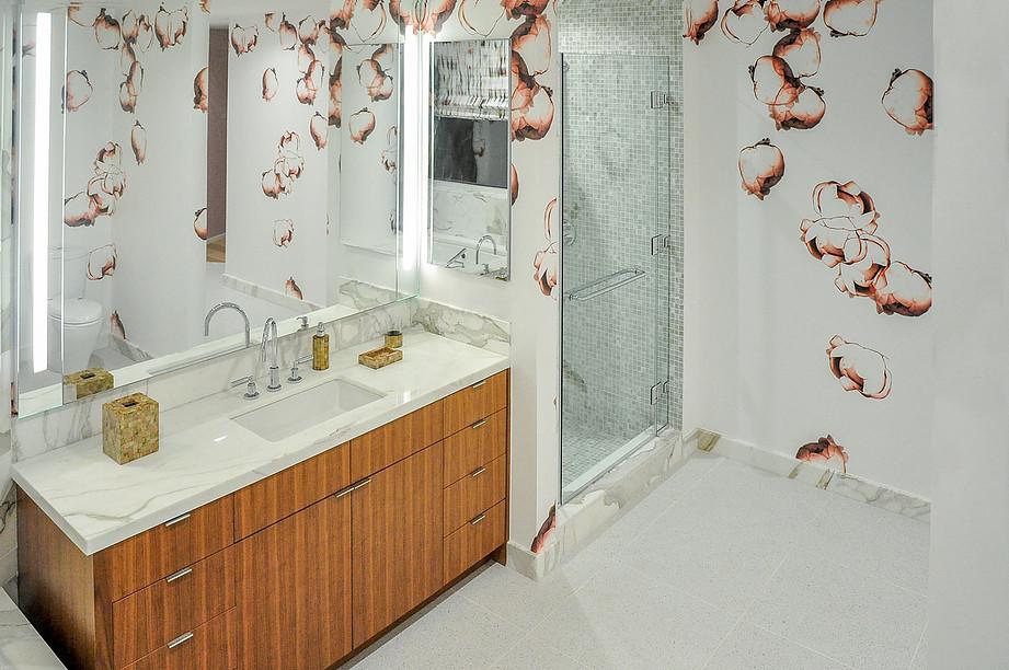 Tampa Interior Designers Crespo Design Group | Los Angeles Ladys Retreat | Powder Rooms Blog 3-1-2017