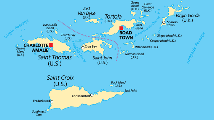 St. Thomas Boat Charte Day Trips to the United States and British Virgin Islands