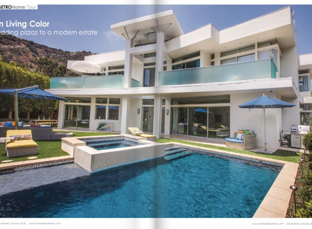 Our Favorite Project is featured in Dec/Jan issue of Tampa Bay Metro