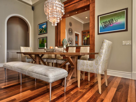 Dining Rooms with Banquettes & Bench-Style Seating