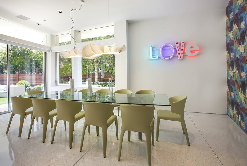 Tampa Interior Designer | Crespo Design Group | Designing Unique & Playful Spaces with Neon Lights