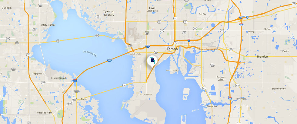 Interior Design Firm Tampa | Crespo Design Group | Map