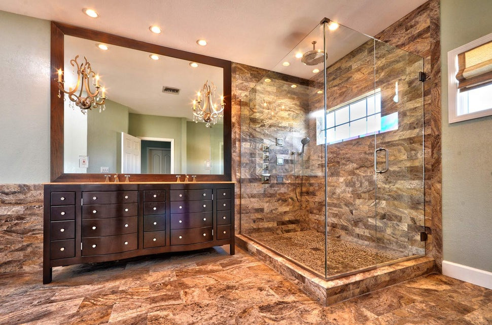 Featured in Dering Hall Article: 30 Bathrooms with Standing Showers