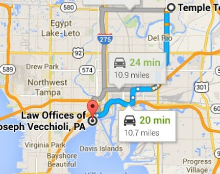 Temple Terrace, Florida Personal Injury lawyer | Auto Accident Attorney | Joseph Vecchioli