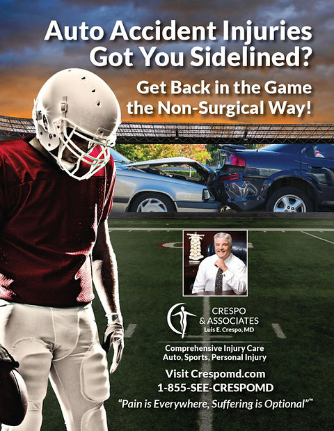 Auto Accident and Personal Injury Doctor serving Memphis Florida