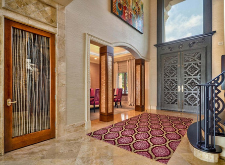 Standout Entryways and Foyers