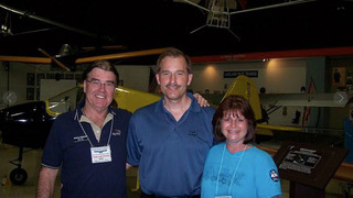My wif and I with Jeff Skiles