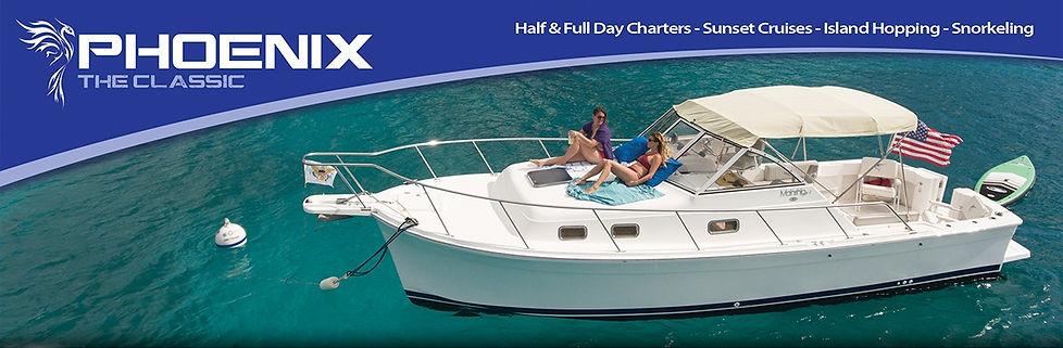 St Thomas Boat Charter - Phoenix The Cla