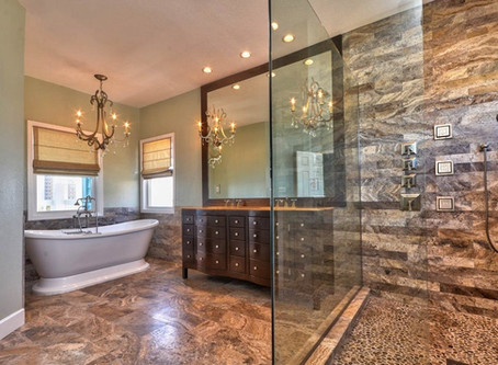 22 Stunning Shower Suites