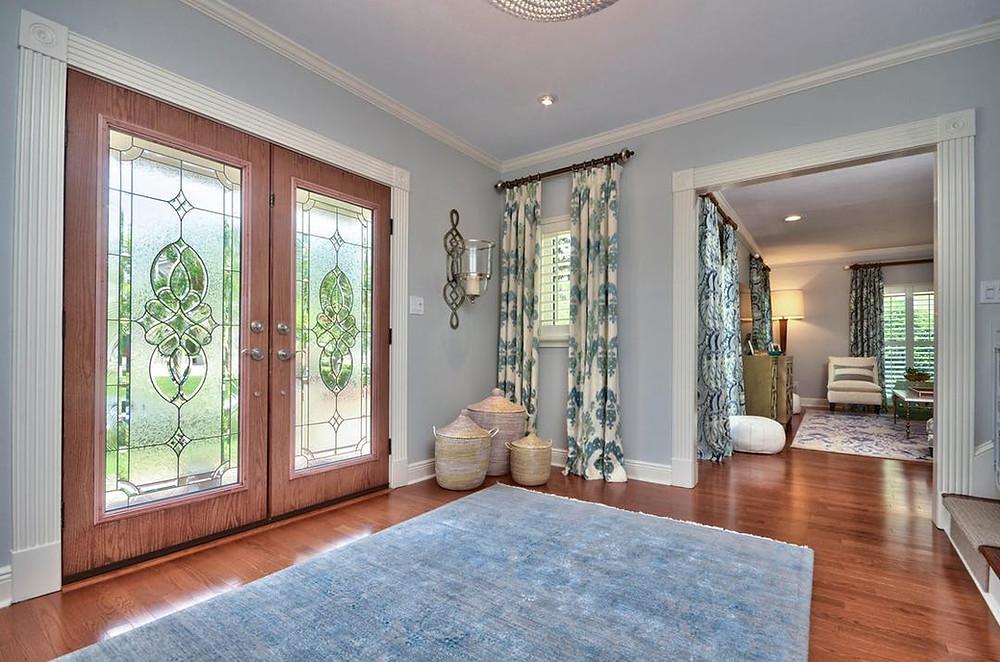 Beautiful French Door Entryways   Crespo Design Group   Interior Designer Blog   South Tampa Entry Way 02-13-2020