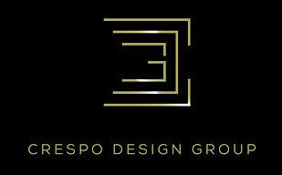 Interior Designer Tampa, Los Angeles _ Crespo Design Group _ Logo on Black Background