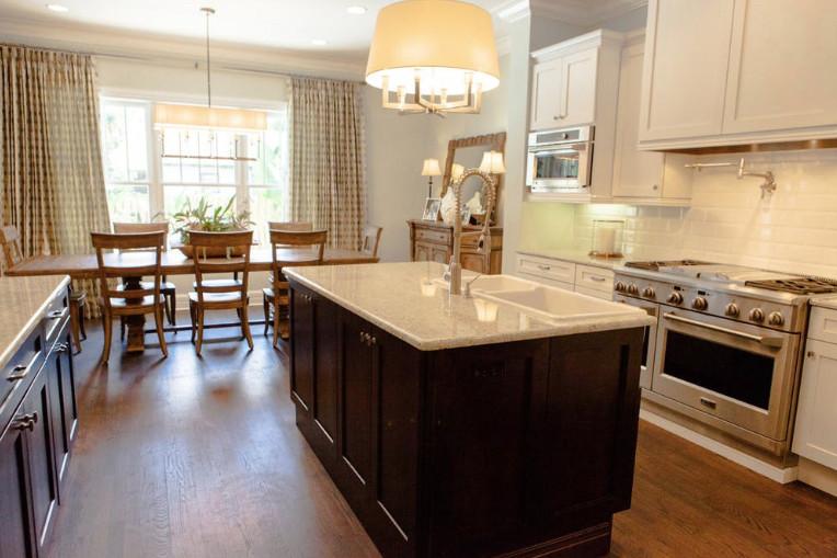 crespo design group portfolio interiors new suburb kitchen view
