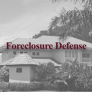 Experienced Foreclosure Defense Lawyer serving Village of the Arts