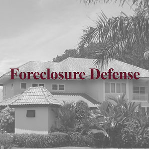 Experienced Foreclosure Defense Lawyer serving Carrollwood Village