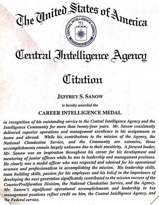 Agency Certificates - Certificate of Ser