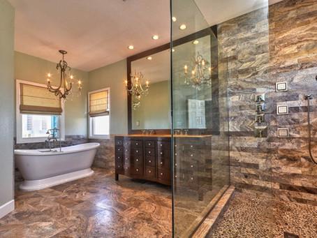 Extravagant Shower Retreats