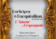 Angers l'art de la séduction,  musées d'Angers, mécénat, plaquette image, identité, édition, graphisme, communication, design by la Fabrique Rouge, Angers, Maine et Loire