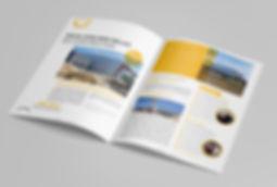 Doué-en-Anjou, Le Mag, Magazine municipal, commune nouvelle, édition,  mise en page, graphisme, communication, design by la Fabrique Rouge, Angers, Maine et Loire
