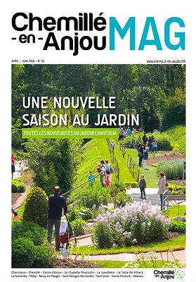 Chemillé-en-Anjou, Mag, magazine municipal, identité, édition, graphisme, communication, design by la Fabrique Rouge, Angers, Maine et Loire