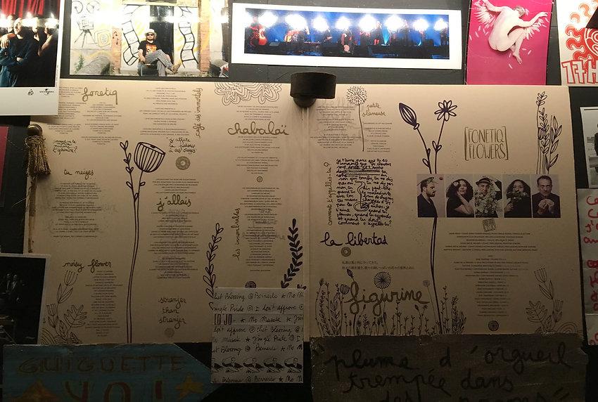 LO'JO, album Fonetiq Flowers, graphisme, communication, musique, vinyle, la Fabrique rouge