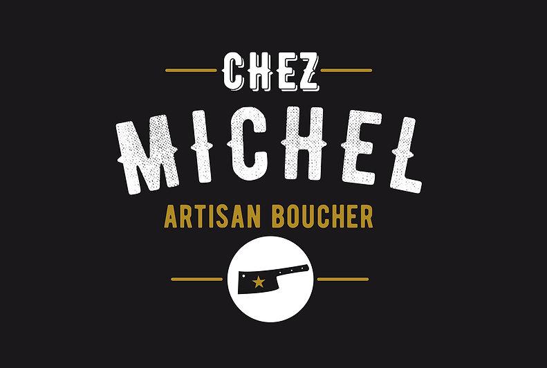 Chez Michel, Boucherie, boutique, identité, édition, graphisme, communication, design by la Fabrique Rouge, Angers, Maine et Loire