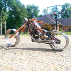 big wheel #chopper #weldporn
